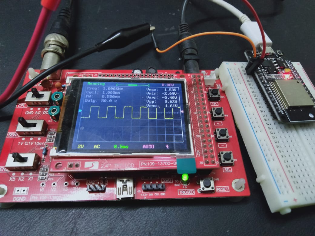 ESP32 PWM with Arduino IDE - LED fading example
