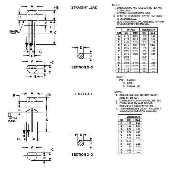 NPN transistor 2D model