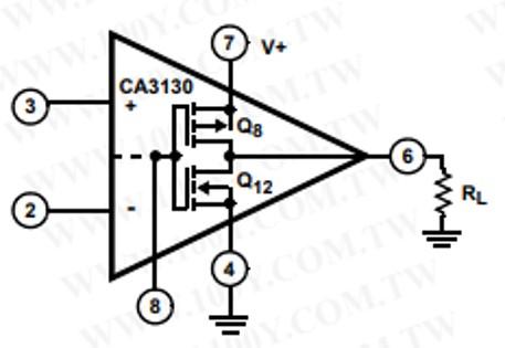 CA3130 single supply operation
