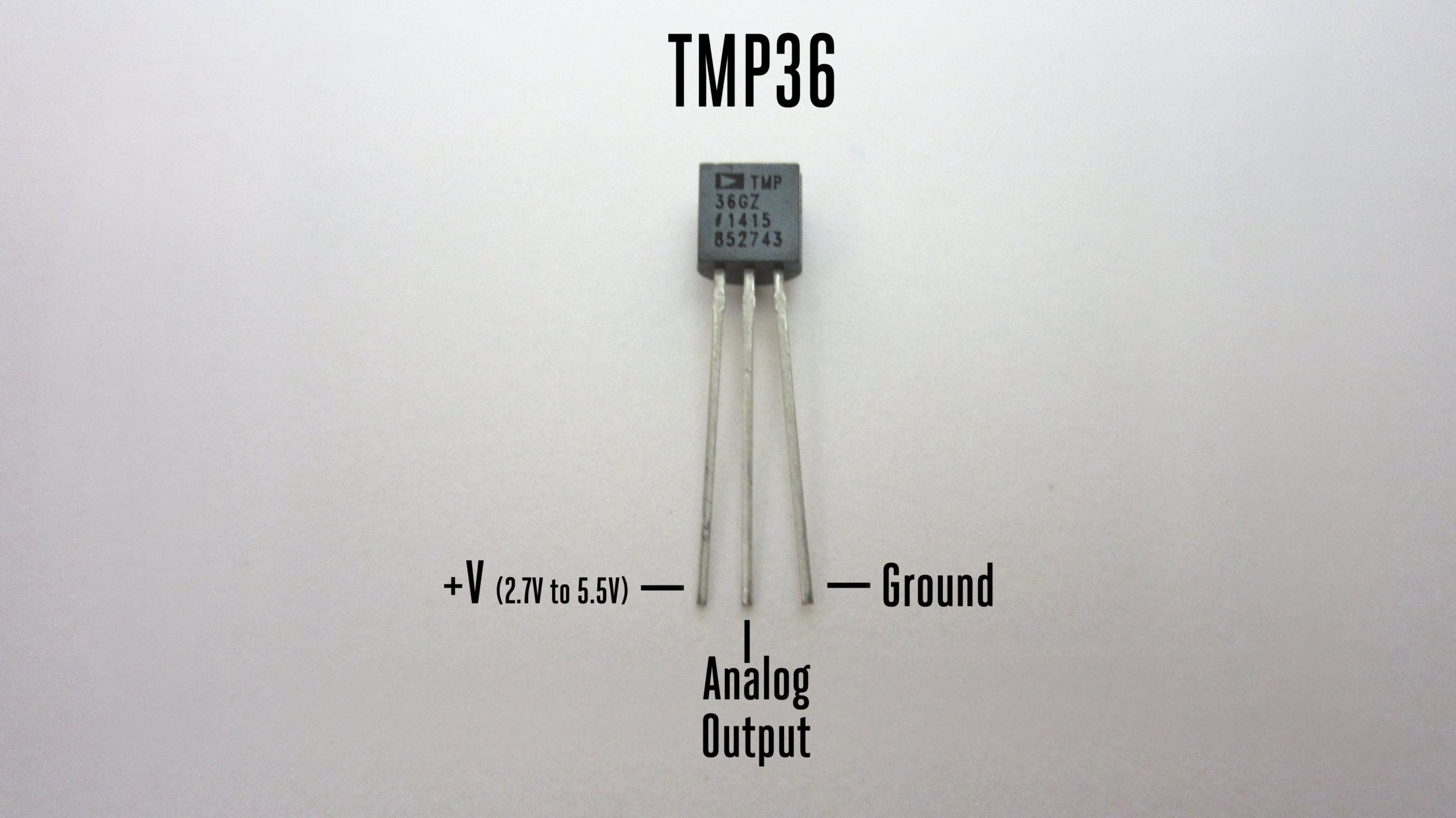TMP36 pinout