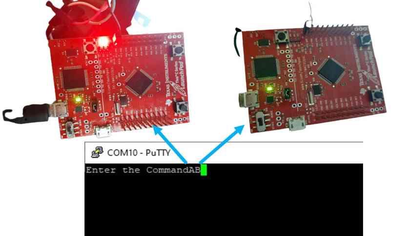 UART interrupt TM4C123 Tiva C launchpad