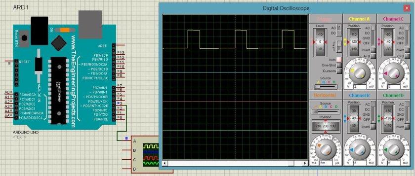 Arduino PWM 30Hz code and example