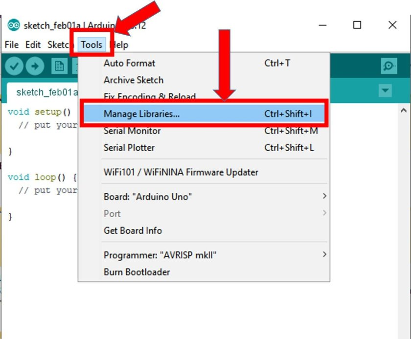Install DS3231 library in Arduino IDE