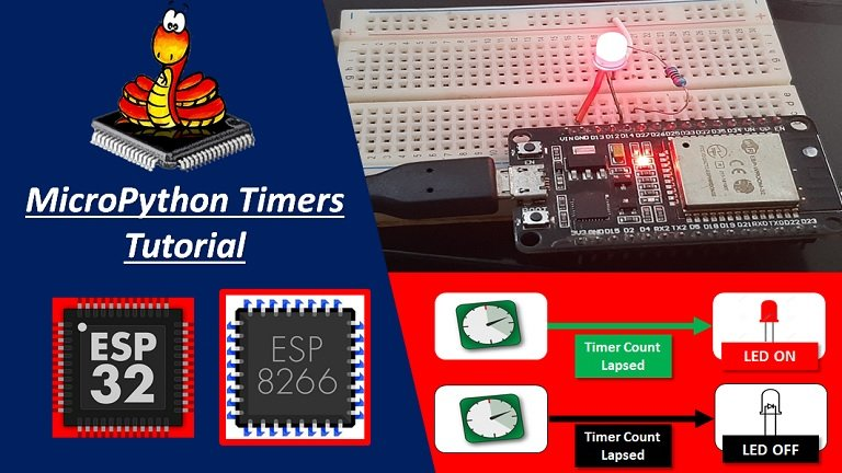 MicroPython Timers ESP32 ESP8266
