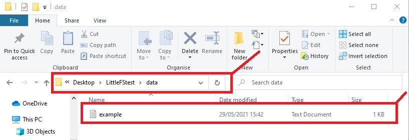 save file in data folder to be uploaded to littlefs