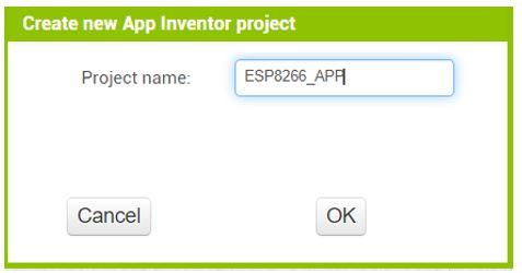 ESP8266 Google Firebase build your own app MIT Inventor 4