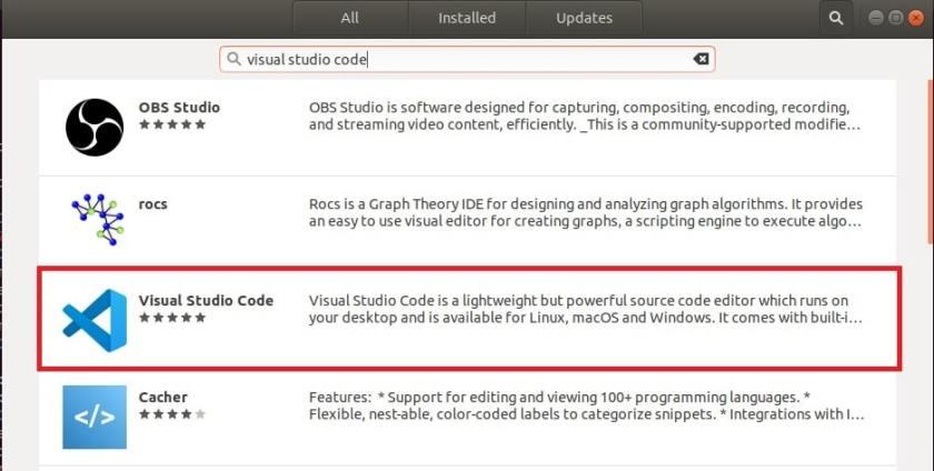 installing vs code in linux 3