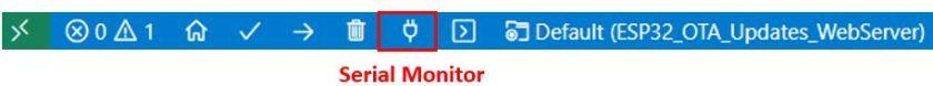 ESP32 OTA Updates VS Code Example1 pic5