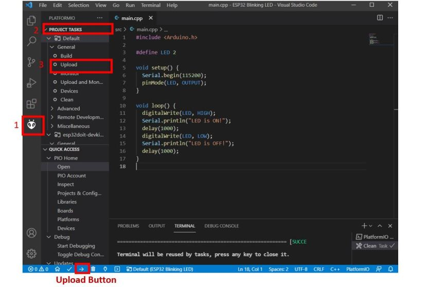 VS Code with PlatformIO 15