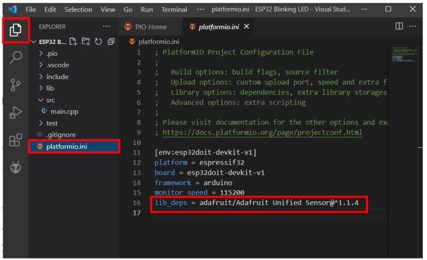VS Code with PlatformIO 24