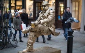 Covent Garden Living Statue (Credit: Warren Allott)
