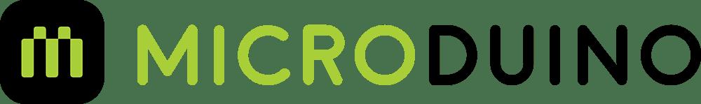 Microduino Brand Identity Name With Logo - Microduino