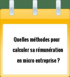 micro entrepreneur : quelle rémunération ?