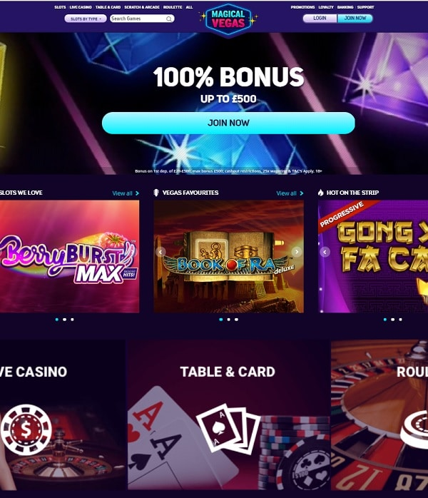 Magical Vegas Casino free spins