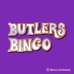 Butlers Bingo Casino 300% bonus and 50 free spins on registration