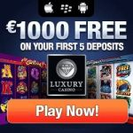 Luxury Casino – €1000 Welcome Bonus and Free Spins – Review