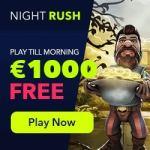 NightRush Casino $1000 GRATIS   free spins   no deposit bonuses