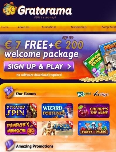 Grato Rama Casino Free Bonus