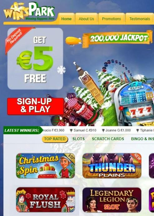 Wins Park Casino Review