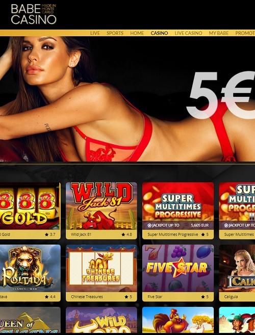 Babe Casino no depsit bonus