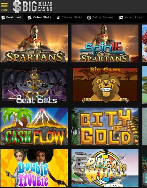 Big Dollar Casino No Deposit Bonus Codes 2021