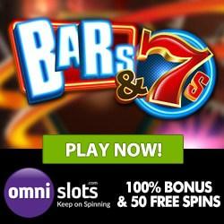 OMNI SLOTS 100% bonus up to 500€ + 50 free spins on registartion