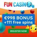 FUN Casino 111 free spins and $1000 free bonus
