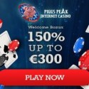 Piggy Peak Casino 50 free spins and $300 welcome bonus