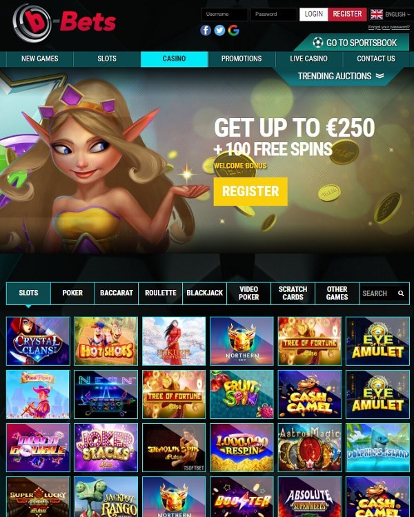 b-bets casino and sportsbook free play games