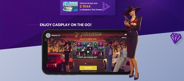 CASIPLAY Mobile Casino