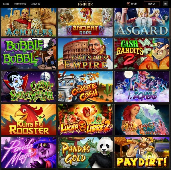 Slots Empire online games