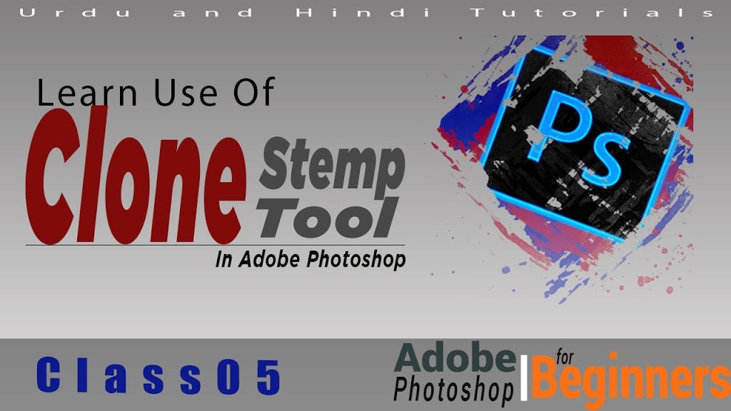 Graphics Design Class 05 - Learn Use of Brush Tool in Adobe Photoshop CC 2018 in Urdu