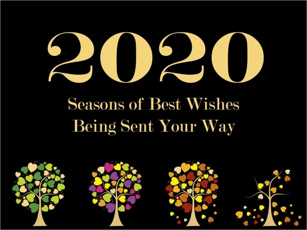 New Year Card Design | Happy New Year 2020