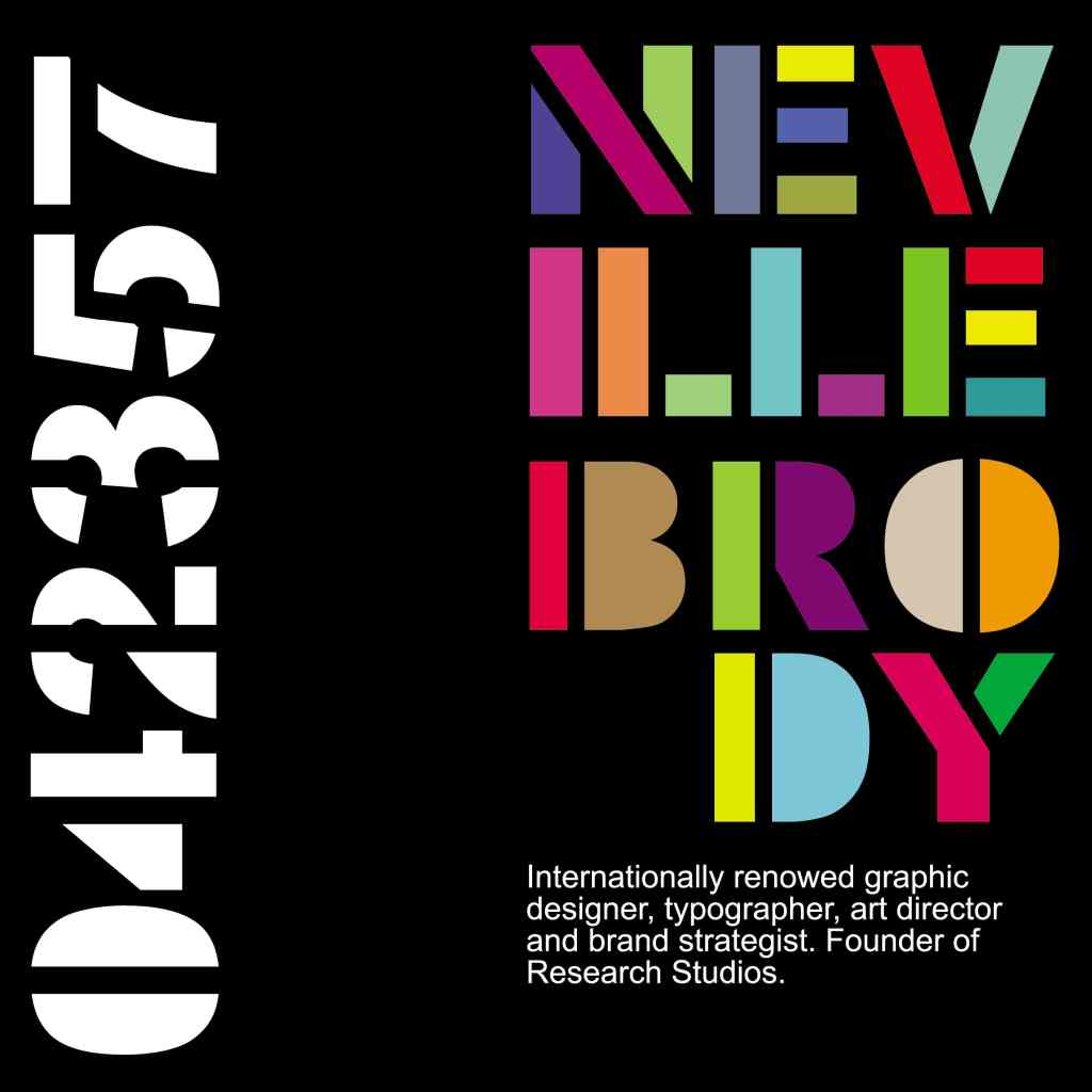 Neville Brody World's Most Famous Graphic Designers