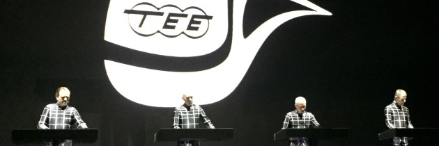 Kraftwerk live at Neue Nationalgalerie Berlin