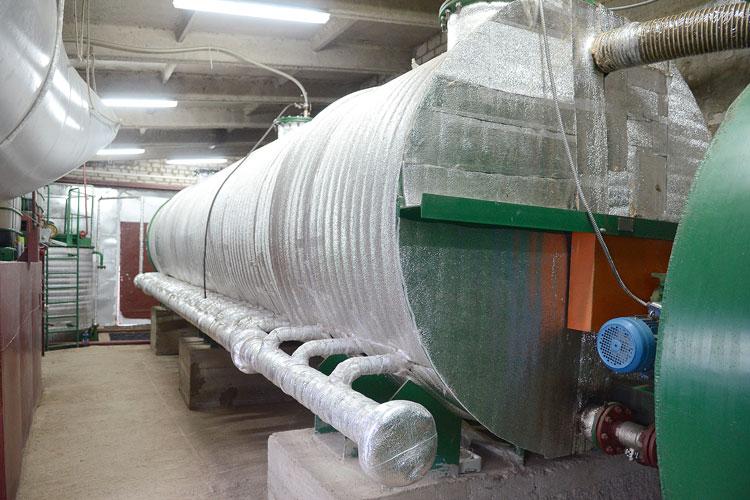 Biogáz telepítése
