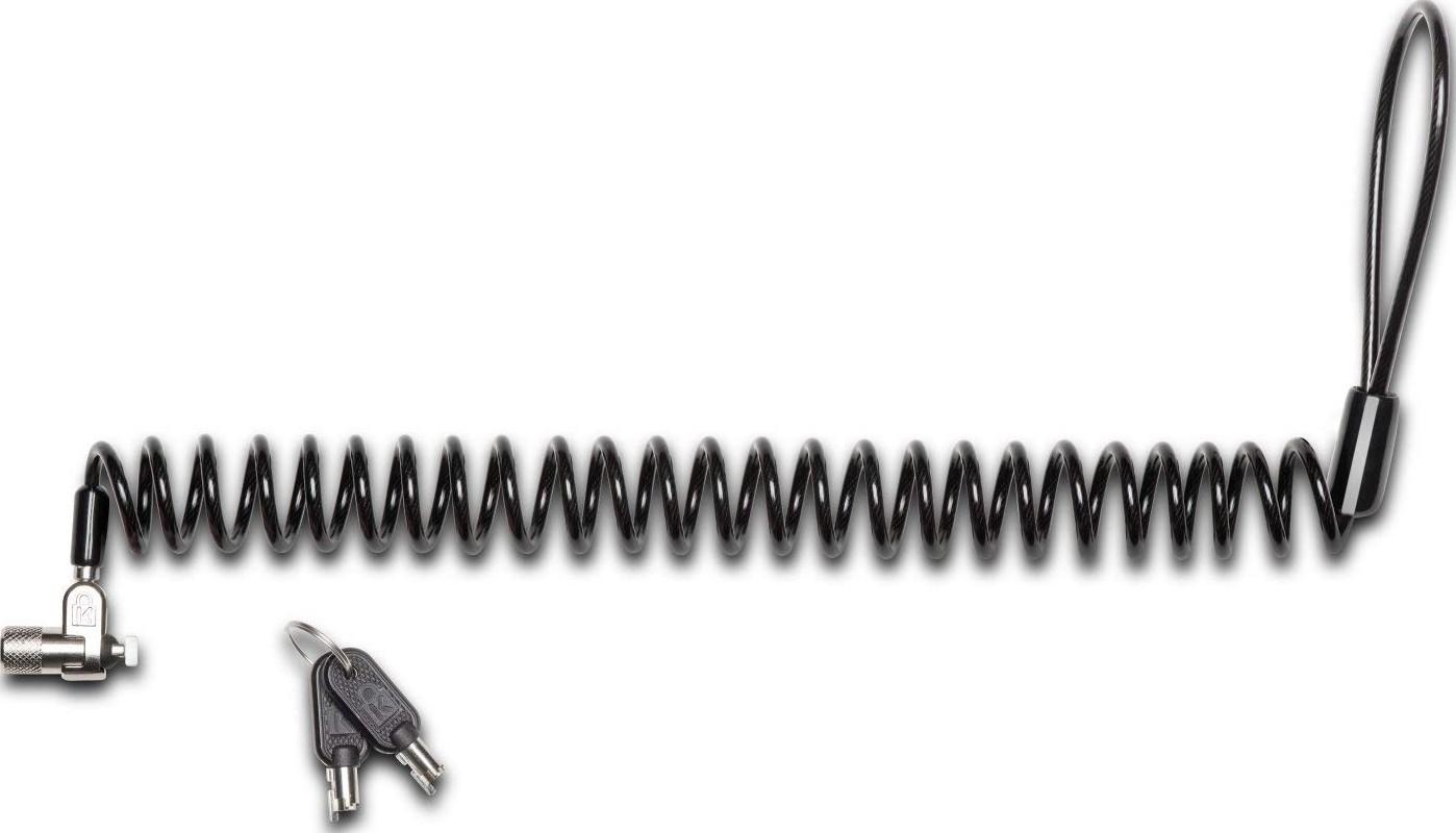 Kensington Microsaver 2 0 Portable Keyed Cable Lock For