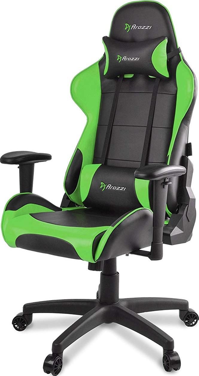 arozzi verona v2 gaming chair with high backrest recliner swivel tilt rocker and seat height adj