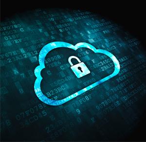 cloud lock image