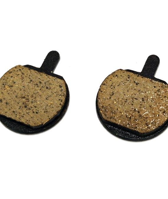 Pastiglie freno con aletta (due fori) per monopattino elettrico
