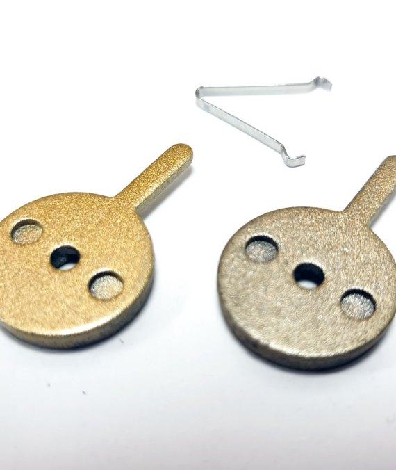 Pastiglie con aletta  lunga per monopattino elettrico