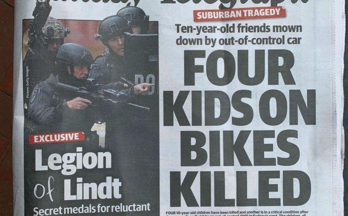 Sunday Telegraph snap
