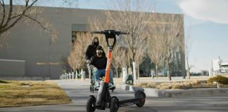 Spin self driving scooter