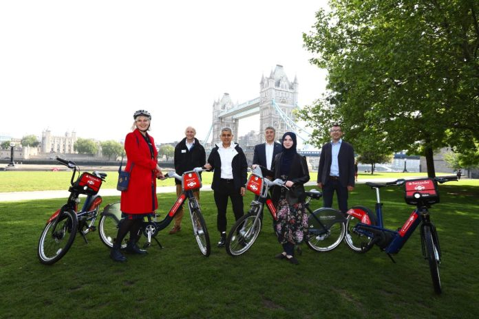 London Cycle Hire share scheme