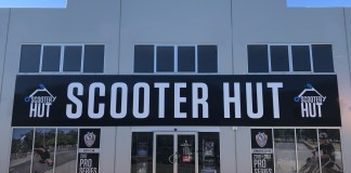 Scooter Hut Adelaide store front