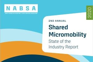 NABSA Shared Micromobilty 2020 Report cover page