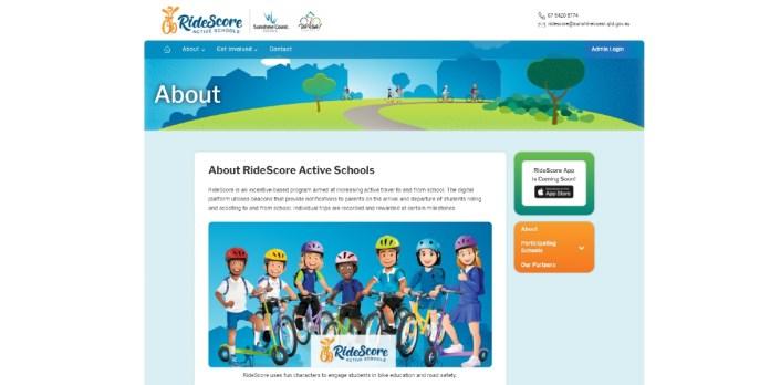 We Ride Australia RideScore Website