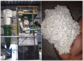Pulp waste to various products