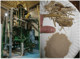 Wood waste to energy