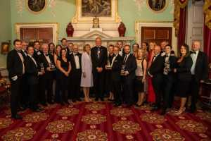 Winners of the Lord Mayor's Dragon Award for Innovation